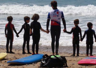 breteam surf club - nos cours jardin des vagues