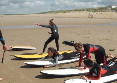 breteam surf club - nos cours juniors debutants