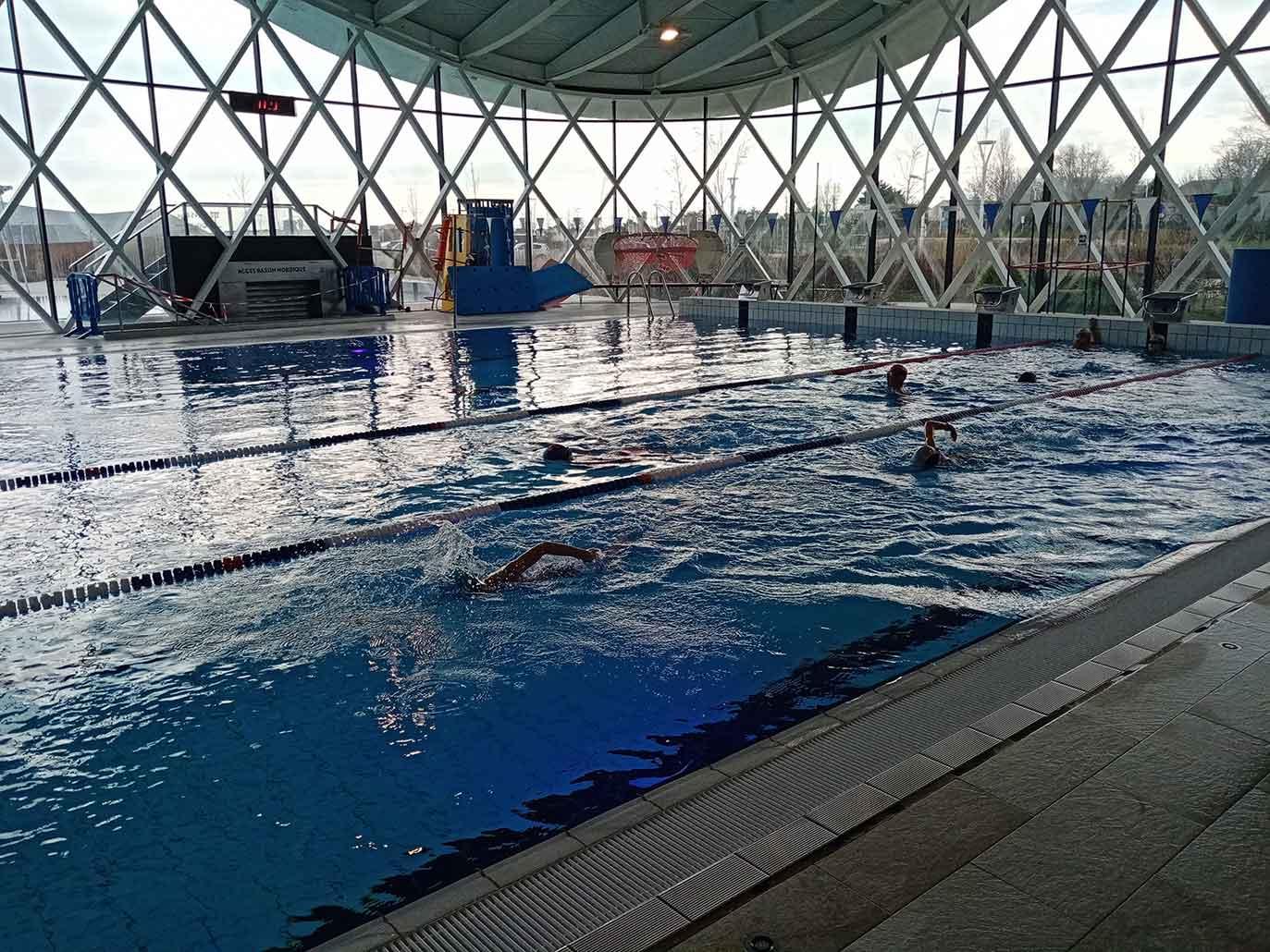 Cours de piscine